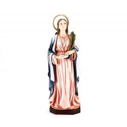 Statua Santa Lucia in resina 28 cm