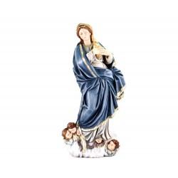 Statua Immacolata del Murillo in resina 45 cm