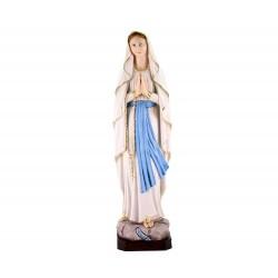Statua Madonna di Lourdes resina dipinta 50 cm