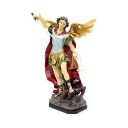 Statua San Michele Arcangelo in resina 30 cm