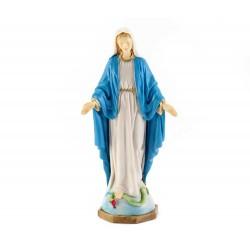 Statua Madonna Miracolosa in pvc 15,5 cm