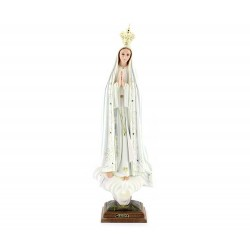 Statua Madonna di Fatima plastica 55 cm
