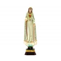 Statua Cuore Immacolato di Maria plastica 30 cm