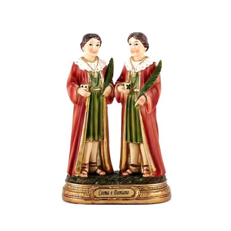 Statua sacra in resina San Cosma e Damiano