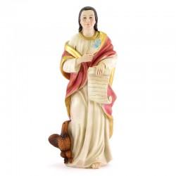 Statua San Giovanni Evangelista in Resina 31 cm