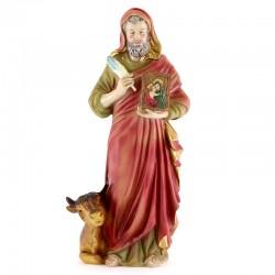 Statua San Luca Evangelista in Resina 31 cm