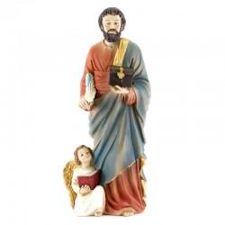 Statua San Matteo Evangelista in Resina 31 cm