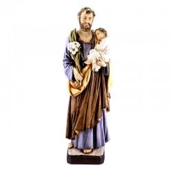 Statua San Giuseppe in resina 60 cm
