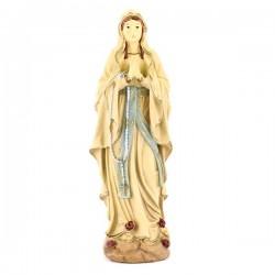 Statua Madonna di Lourdes in resina 18,5 cm