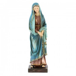 Statua Madonna Addolorata in resina colorata 20 cm