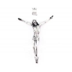 Corpo di Cristo in metallo 9x11 cm