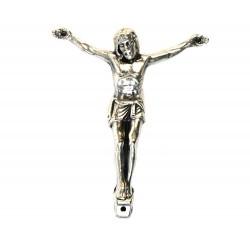 Corpo di Cristo in zama argentata 4x3 cm