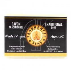 Sapone profumo olio di Argan Fragrances&Sens 100 g