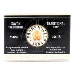 Sapone profumo Muschio bianco Fragrances & Sens 100 g