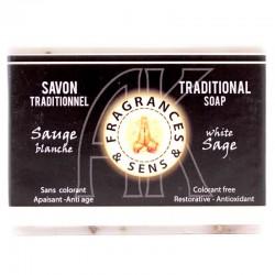 Sapone profumo Salvia bianca Fragrances & Sens 100 g