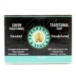 Sapone profumo Sandalo Fragrances & Sens 100 g