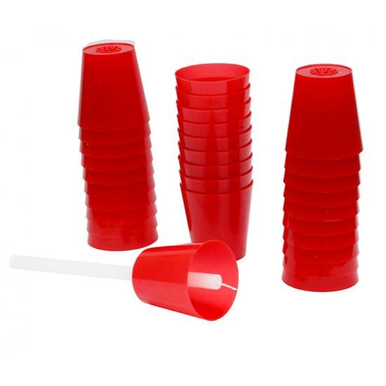 Red Plastic Bobeche