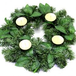Simple Advent Wreath diameter 40 cm