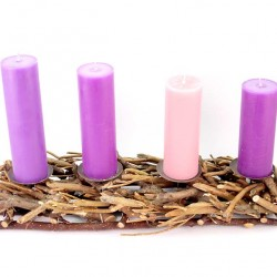 Intertwined Branches Advent Wreath 50 cm
