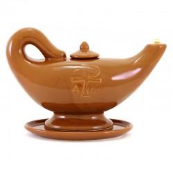 Lampada terracotta Aladino 32x20 cm
