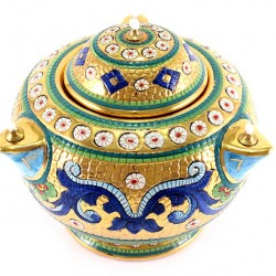 Ceramic Oil Lamp Byzantine style Diameter 20 cm
