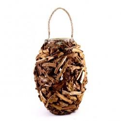 Natural Bark Lamp 45 cm