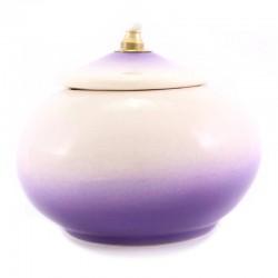 Lampada terracotta viola Diametro 11 cm