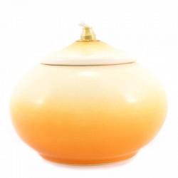 Lampada terracotta gialla Diametro 11 cm