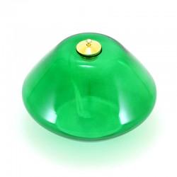 Glass Advent Lamp 4 Colors 10x14 cm