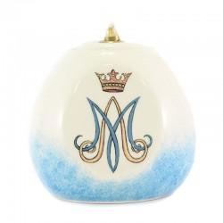 Lucerna Mariana in ceramica colorata 12x12 cm