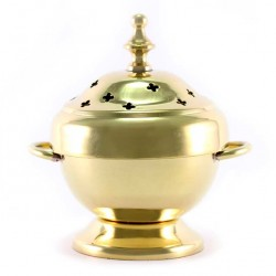Table Incense Burner with Handles 11 cm