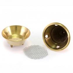 Brass indian Incense Burner 9 cm