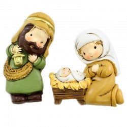 Colored Resin Magnetic Nativity 11 items 5.3 cm