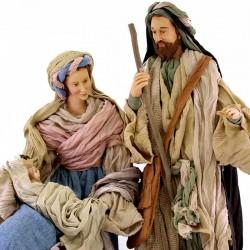 Country Style Nativity Scene 80 cm