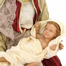 Resin Nativity Contry Style 81 cm