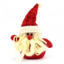 Appendino Babbo Natale in panno lenci 15 cm