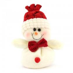 Appendino Pupazzo Neve in panno lenci 13 cm