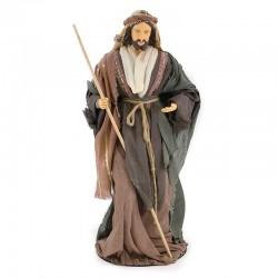 Nativity in dressed resin 80 cm