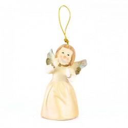 Angelo campanello scatola Buon Natale 8 cm