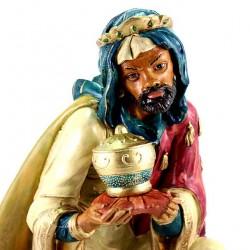 Colored Polythene Mulatto Wise Man 45 cm
