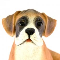 Silicone Resin Boxer Puppy 20x23 cm