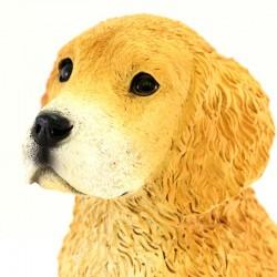 Silicone Resin Golden Retriever Puppy 18x25 cm