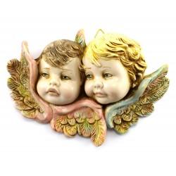 Teste Angeli tipo colorato 8x11 cm Presepe Fontanini