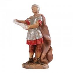 Soldato romano con pergamena in resina 6,5 cm Presepe Fontanini