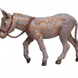 Standing Donkey in resin 12 cm Fontanini cribs