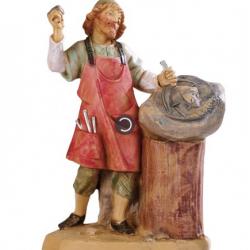 Sculptor Shepherd in resin 12 cm Fontanini cribs