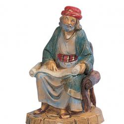 Shepherd the Master in resin 12 cm Fontanini cribs