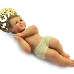 Plaster Baby Jesus from Jerusalem 25 cm