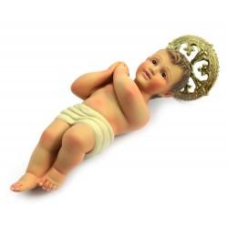 Gesù Bambino di Jerusalemme in gesso 25 cm
