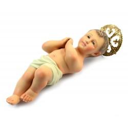 Gesù Bambino di Jerusalemme in gesso 30 cm